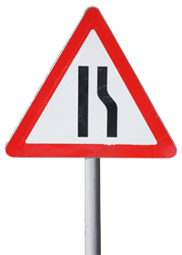 ТShrink sleeve for traffic signs and street signs